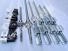 SBR16-500/1000mm linear Guide &1 x RM1605-550/1050mm Ballscrew +2 BK/BF12 Kits