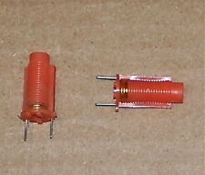 .1 - .13 variable RF coil inductor vintage old PC mount radio transceiver tuning