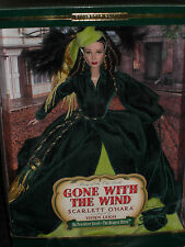 2001 MATTEL TIMELESS TREASURES GONE WITH THE WIND SCARLETT O'HARA DRAPERY DRESS!