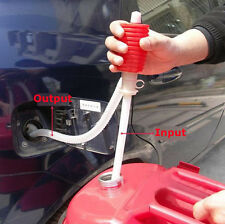 1 Pc Portable Manual Car Siphon Hose Liquid Gas Oil Water Transfer Hand Pump