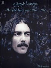George Harrison The Dark Horse Years 1976-1992 Play Piano PVG Guitar Music Book