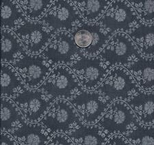 QUILT FABRIC: 100% COTTON, , PAST TIME, BLACK,  PT-04, BY THE Yard