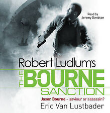 ROBERT LUDLUM'S THE BOURNE SANCTION by Eric Lustbader : WH1#B : 889 NEW AUDIO CD