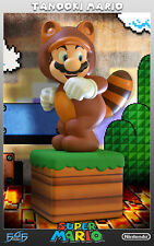 First4Figures Tanooki Mario Statue Mint in Box
