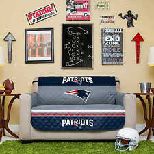 NFL Reversible Furniture Protector - NEW ENGLAND PATRIOTS - Love Seat