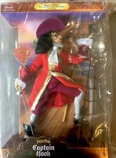 """DISNEY VILLAINS MASTERS OF MALICE """"CAPTAIN HOOK"""" LIMITED EDITION NRFB"""