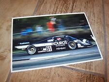 Photo / Photograph  Nielsen / Pescarolo / Thackwell SAUBER MERCEDES C8 1986 //