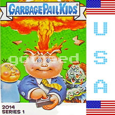 2014 USA Garbage Pail Kids Series 1 COMPLETE Set *NEW RELEASE* 132 Card Set