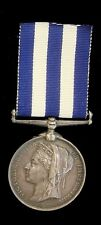 VICTORIAN EGYPT MEDAL TO 2763.PTE.A.H.BRYANASHWELL.2.R.IRISH.R