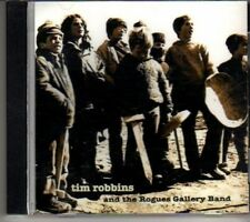 (DF871) Tim Robbins & The Rogues Gallery Band, 9 track album - DJ CD