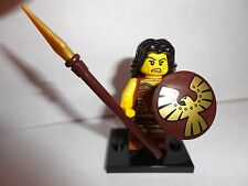 LEGO WARRIOR PRINCESS #4 w/spear + New Minifigure 71001 SERIES 10 mini fig lot