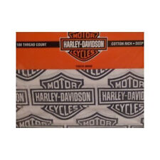 Harley Davidson® Flame Rider Fireball Sheet Sets-Full Size-Cotton Rich Blend