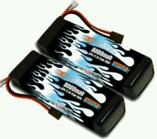 Losi Audi R8 Maxamps Dual Core 8000mah 3s 11.1volts pair 100mph+ high speed runs