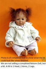REBORN DOLL KIT, SILJA BY LINDE SCHERER,  REAL FEEL VINYL KIT