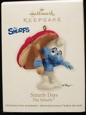 2012 HALLMARK - SMURFY DAYS - THE SMURFS  - MINT IN BOX