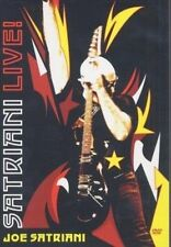 SATRIANI LIVE! - Joe Satriani, 2 Disk DVD Set  [Dolby Digital 5.1]