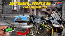 Steelmate 2 Way Pager / Monitor Alarm Security System with LCD Fob Yamaha Fazer