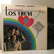 LOS TREVI Musica Romantica LP Trebol T-10110 Mexico VG+ vinyl plays great!