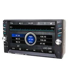 "6.6"" HD 2Din Bluetooth Car In-Dash Stereo MP3 MP5 Player USB/SD/FM Radio TV iPod"