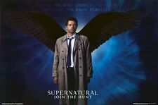 SUPERNATURAL ~ CASTIEL WINGS 24x36 TV POSTER Misha Collins Angel NEW/ROLLED!