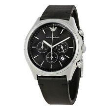 Emporio Armani Black Dial Chronograph Mens Watch AR1975