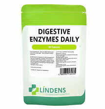 Digestive Enzymes Daily DOUBLE PACK 180 Tablets w/ betaine hcl Wind Bloating IBS
