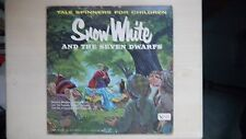 "United Artist Tale Spinners ""SNOW WHITE AND THE SEVEN DWARFS"" LP 60s"