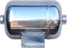 1/2 Gallon Polish Stainless Steel Air Tank 2-port train horn & air suspension
