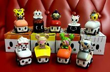 Tokidoki Sushi Cars Vinyl Blind Box: Set Of 9 Without Chaser
