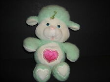 "Care Bears Cousins Gentle Heart Lamb 14"" Vintage 1984 Plush Stuffed Green"