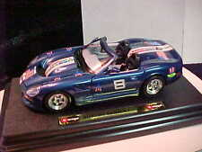 #8 DALE EARNHARDT JR 1/24 BUDWEISER PATRIOTIC 1998 SHELBY SERIES 1 CAR BY MAISTO