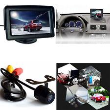 "Wireless Car Rear View 4.3"" LCD Monitor+HD IR Night Vision Reverse Backup Camera"