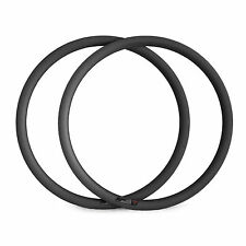 38mm Clincher Carbon Road Bike Rims 700C Bicycle Carbon Fiber Rims