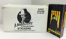 Factory Case-1988 A Nightmare On Elm Street Stickers(12 Boxes x48 Packs)-Value!