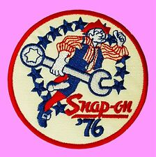 Snap On Logo 76 Tool Motor Racing  Badge Jacket  Embroidered Iron On Patch
