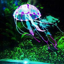 Aquarium Fish Tank Landscape Decoration Glowing Simulation Animal Ornaments M