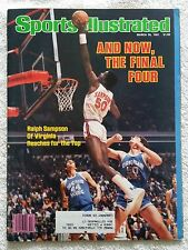 Sports Illustrated March 30, 1981; And Now, the Final Four, Ralph Sampson-RARE!!