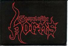 Gospel Of The Horns Logo Patch Portal Vomitor Destroyer 666 Bestial Warlust GOTH