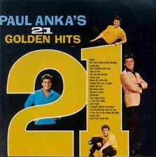 (CD) Paul Anka - 21 Golden Hits