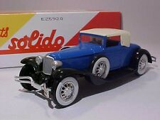Cord L29 1929 Solido 1/43 Diecast Mint in Numbered Box