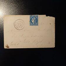 FRANCE CÉRÈS N°46B SUR LETTRE COVER GC 1927 LALINDE POUR SAINT JOSEPH