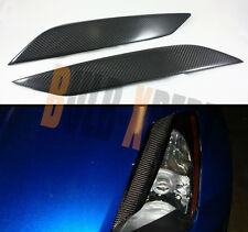 FOR NISSAN 03-08 350Z Z33 FAIRLADY CARBON FIBER HEADLIGHT EYE LID EYELIDS COVER