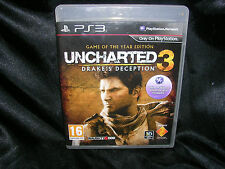 Uncharted 3: Drake's Deception: Game of the Year Edition, Playstation 3 Game