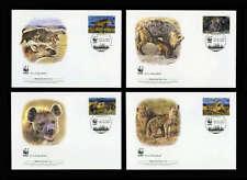 Uganda Nr. 2663-66 WWF FDC Ersttagsbriefe (651026636680)