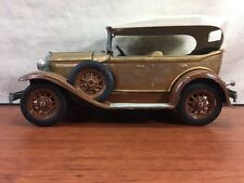 Vintage Hubley 1928-1931 Model A Ford Four Door Phaeton Convertible Toy Model