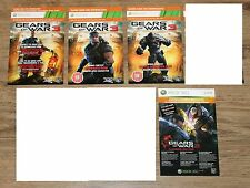 Gears of War 2 3 Lancer Dom Grenadier etc Cards USED Sold as Collectibles