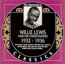 Willie Lewis -1932-1936 / Classic Records CD New and sealed