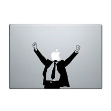 "Macbook Aufkleber Sticker Decal skin Air Pro 11"" 13"" 15"" 17""  happy man vinyl"