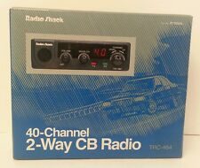 Radio Shack 40 Channel 2 Way CB Radio With Mic TRC-464 Talk