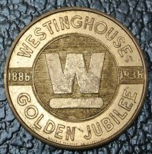 1936 WESTINGHOUSE GOLD JUBILEE MEDAL-The New Standard of Refrigeration Value